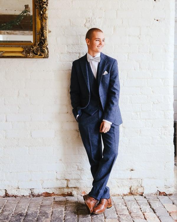 Navy Mens Wedding Suit