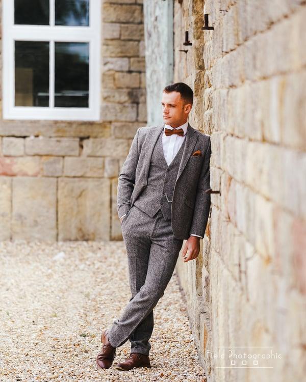 Men's suit hire shottle hall