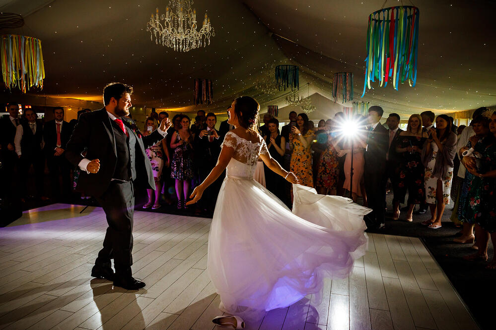 First Dance Shottle Hall