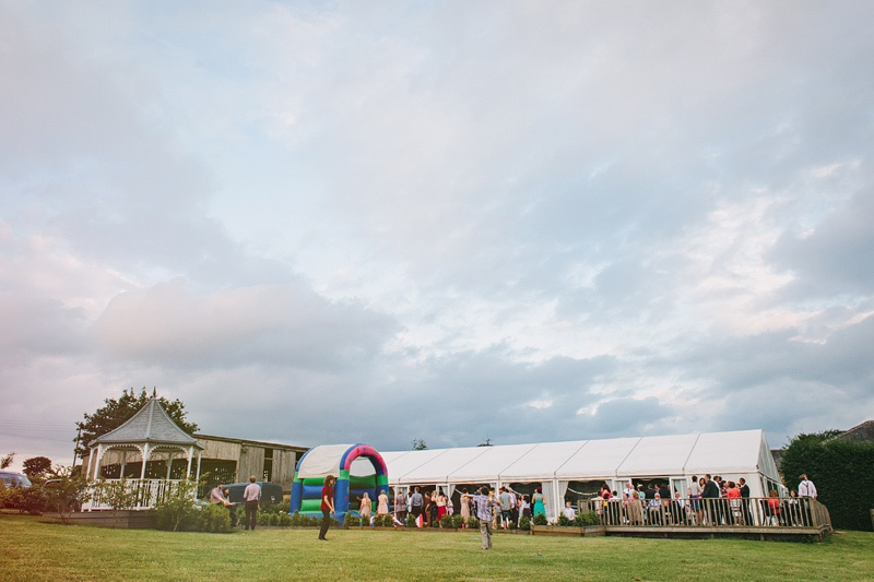 Marquee at Shottle Hall