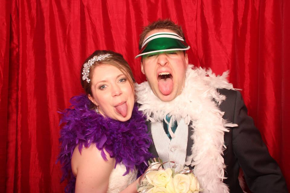 A photo booth captured some hilarious moments