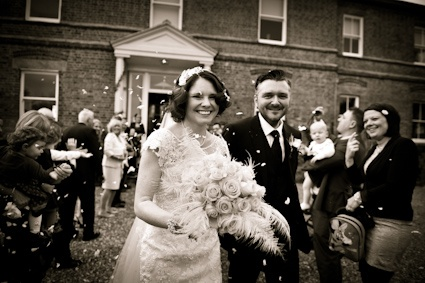 One of Katie and Andy's favourite pictures from the day