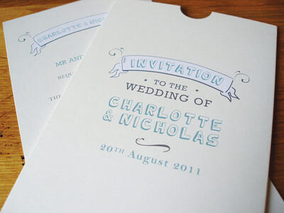 The style of your wedding invitations can set the tone for the whole day.