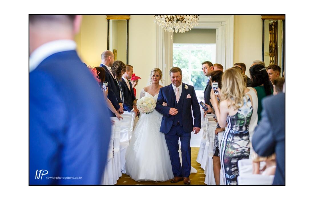 civil ceremony Shottle Hall