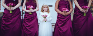 The Bridesmaids dresses & flower girl
