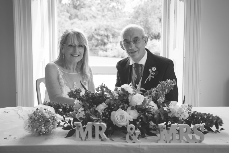 The new Mr & Mrs Kendall
