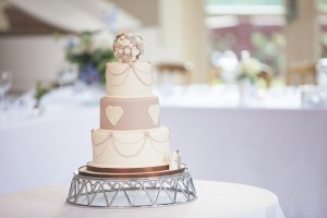 The Mouth Watering Wedding Cake