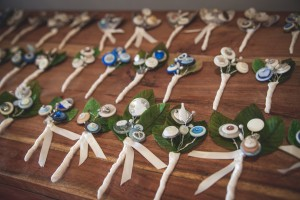 Hilary's Artistic Buttonholes for Every Guest