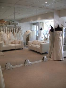 wedding gown, bridal dress