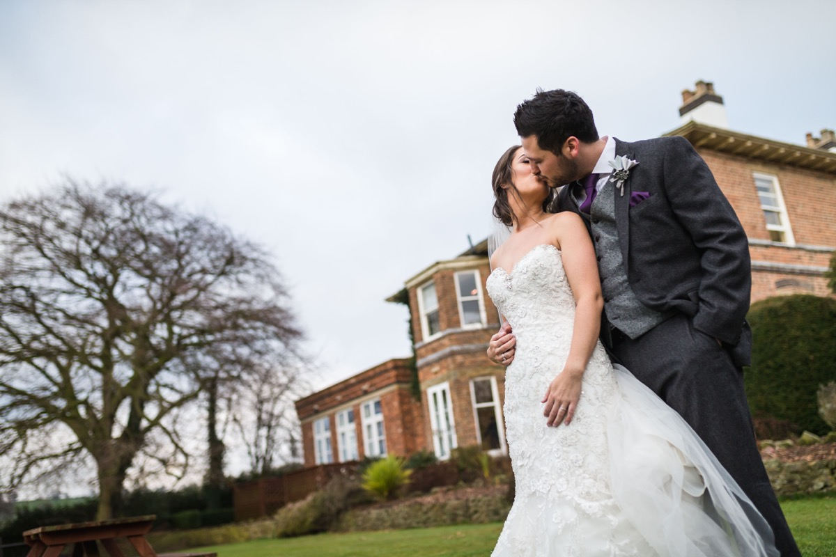 just married shottle hall
