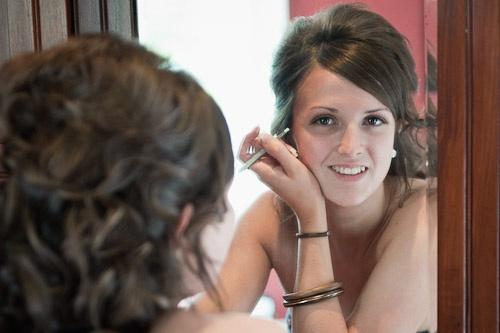 Alice bride makeup
