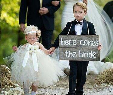 Not everyone wants children at their wedding