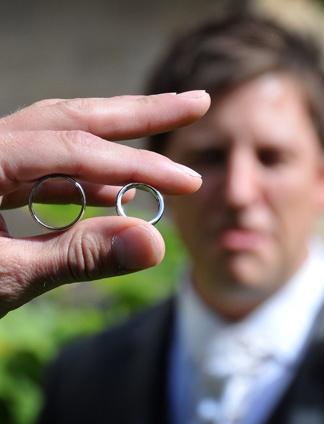 Craig and his wedding rings