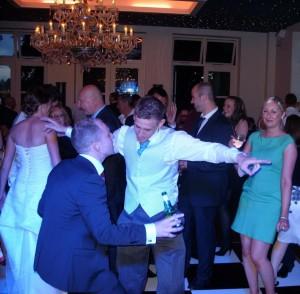 groom dancing at shottle hall