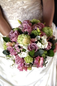 Wedding flowers from The Greenery