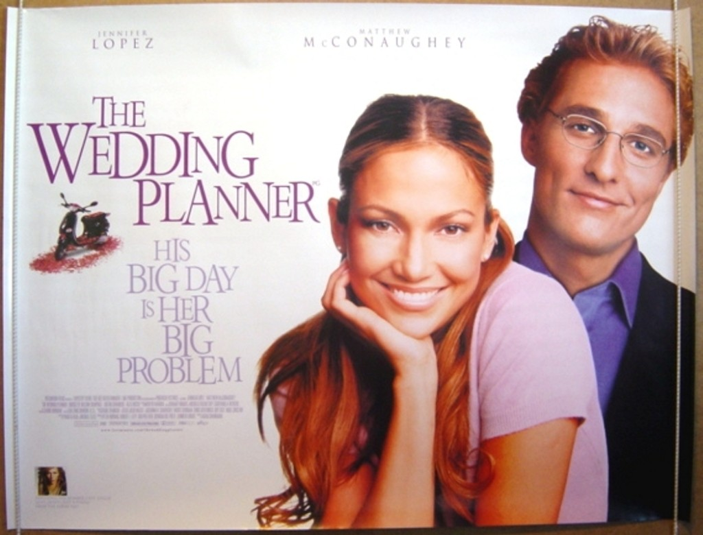 J-Lo as The Wedding Planner