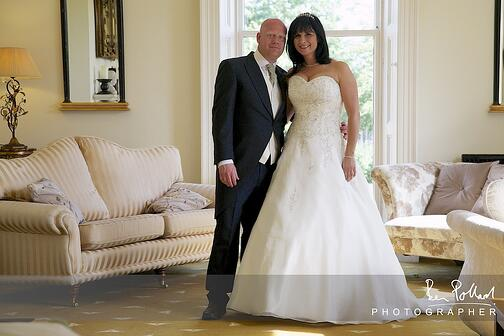 Jonny and Nicole chose Shottle Hall after attending a friend's wedding