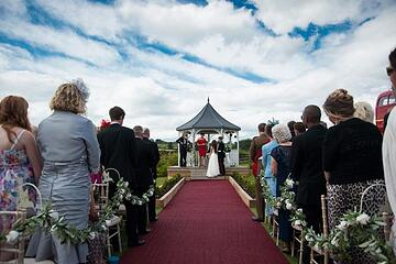 A civil ceremony is more popular with Shottle Hall brides