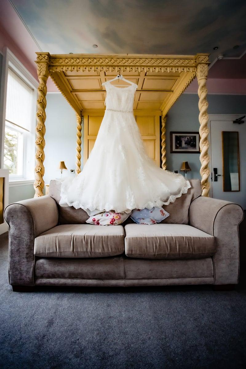 Wedding dress shottle hall