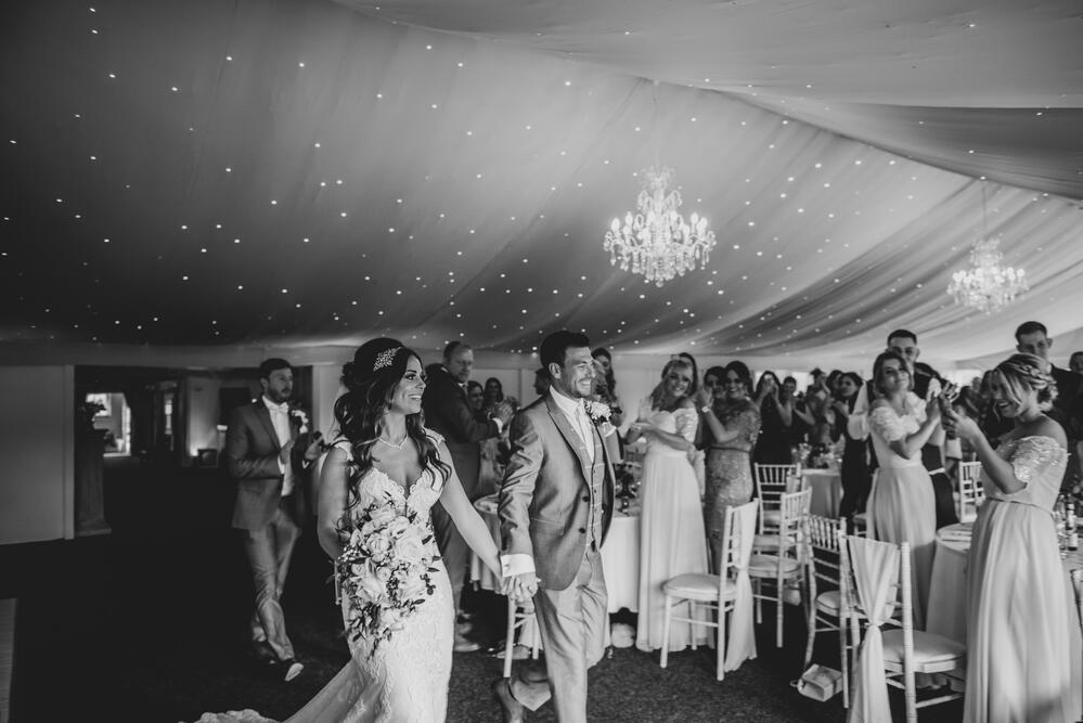 Marquee wedding Shottle Hall