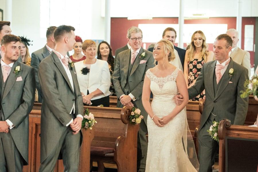 Church Wedding Derbyshire