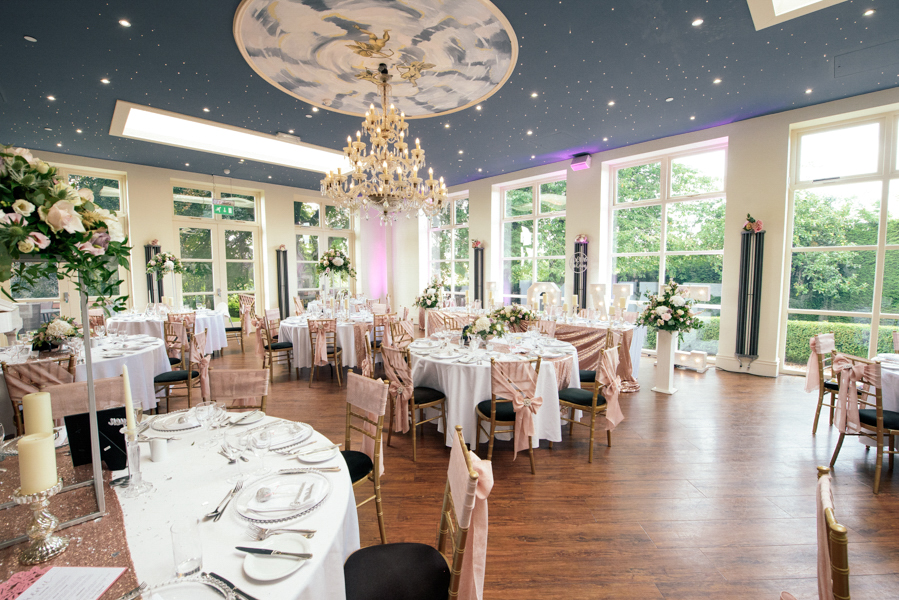 Wedding Setup Shottle Hall
