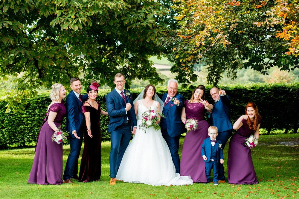 family photos wedding day