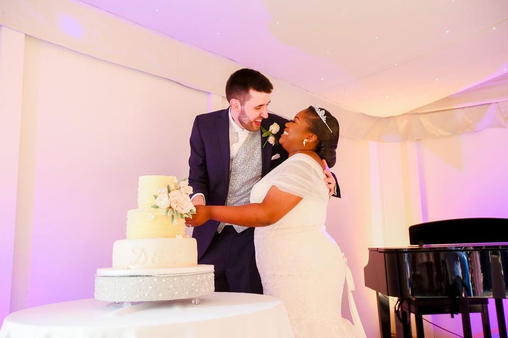 Wedding Cake Shottle Hall